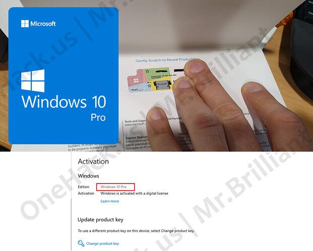 $7 Windows 10 Pro LifeTime Retail Key for 1 Device Activation  PayPal, BHIM  UPI, Paytm, Google Pay, Bitcoin