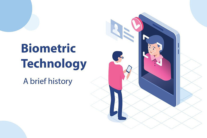 The History Of Biometric Technology | From 1960 To 2021