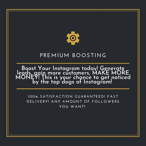 Premium Boosting