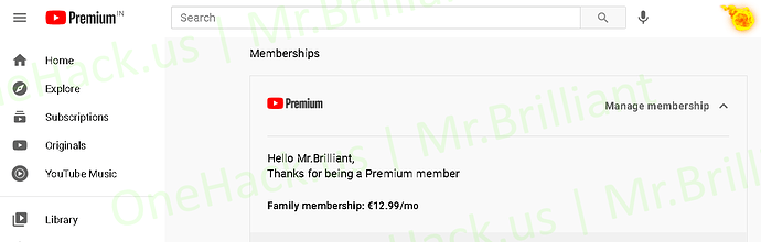 $15 YouTube LifeTime Premium + Music Auto UpgradeRenew Every Month  Family Invitation Link On Your Existing Account 1