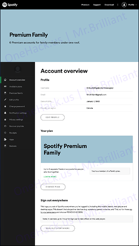 $10 Spotify Premium LifeTime Upgrade on Your Existing Private Spotify Account  0% Kick Rate