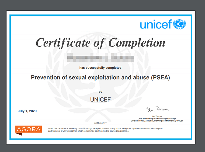 2020-07-01 08_36_59-Course certificate - Prevention of Sexual Exploitation and Abuse