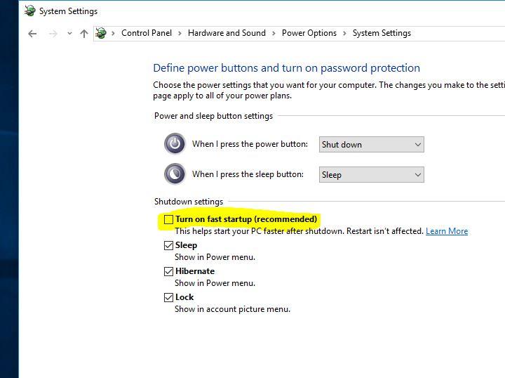 Turn-off-Fast-Startup-on-windows-10