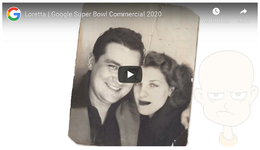 Google Super Bowl commercial was poignant but also disturbing