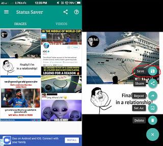 How To Download Whatsapp Status Video Photo
