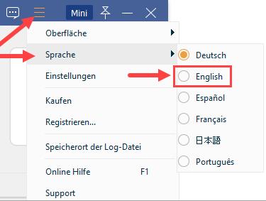 Tipard-Screen-Capture-Change-Language
