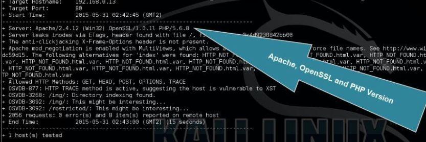 scanning-webservers-with-nikto-for-vulnerabilities