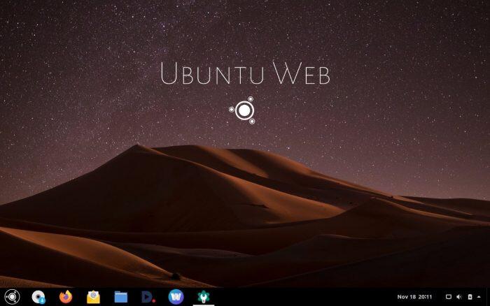 'Ubuntu Web Remix' Distro Offers Firefox-Based Chrome OS Alternative