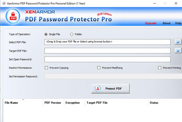 XenArmor-PDF-Password-Protector-PRO-Giveaway