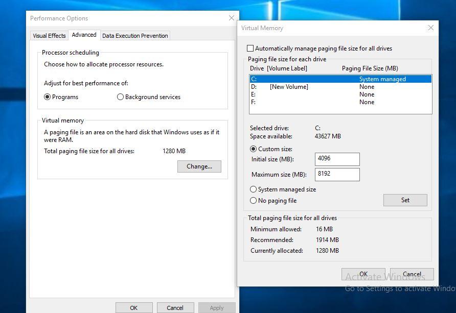adjust-virtual-memory-on-windows-10