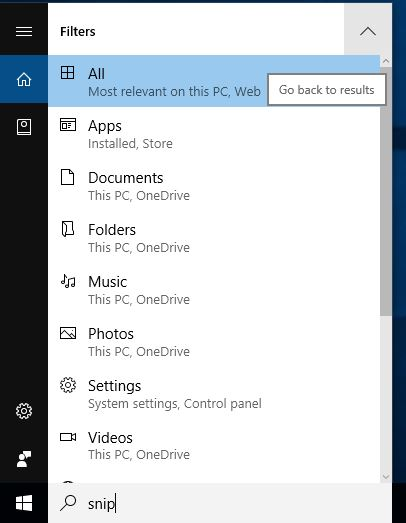 Filter-your-Windows-search-