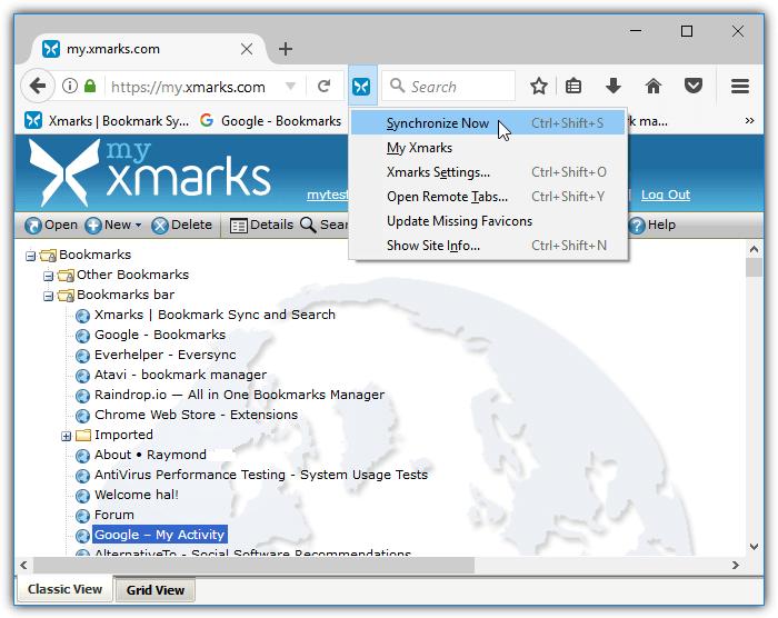 xmarks_sync